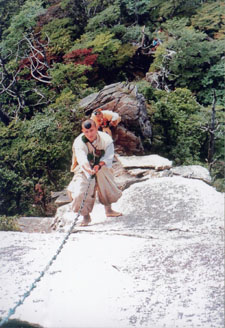 Climbing the chain of Dainichi Nyorai
